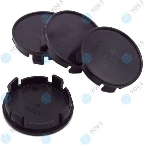 4 x you s tapacubos embellecedores llantas tapa 53,7-46,3 mm-negro