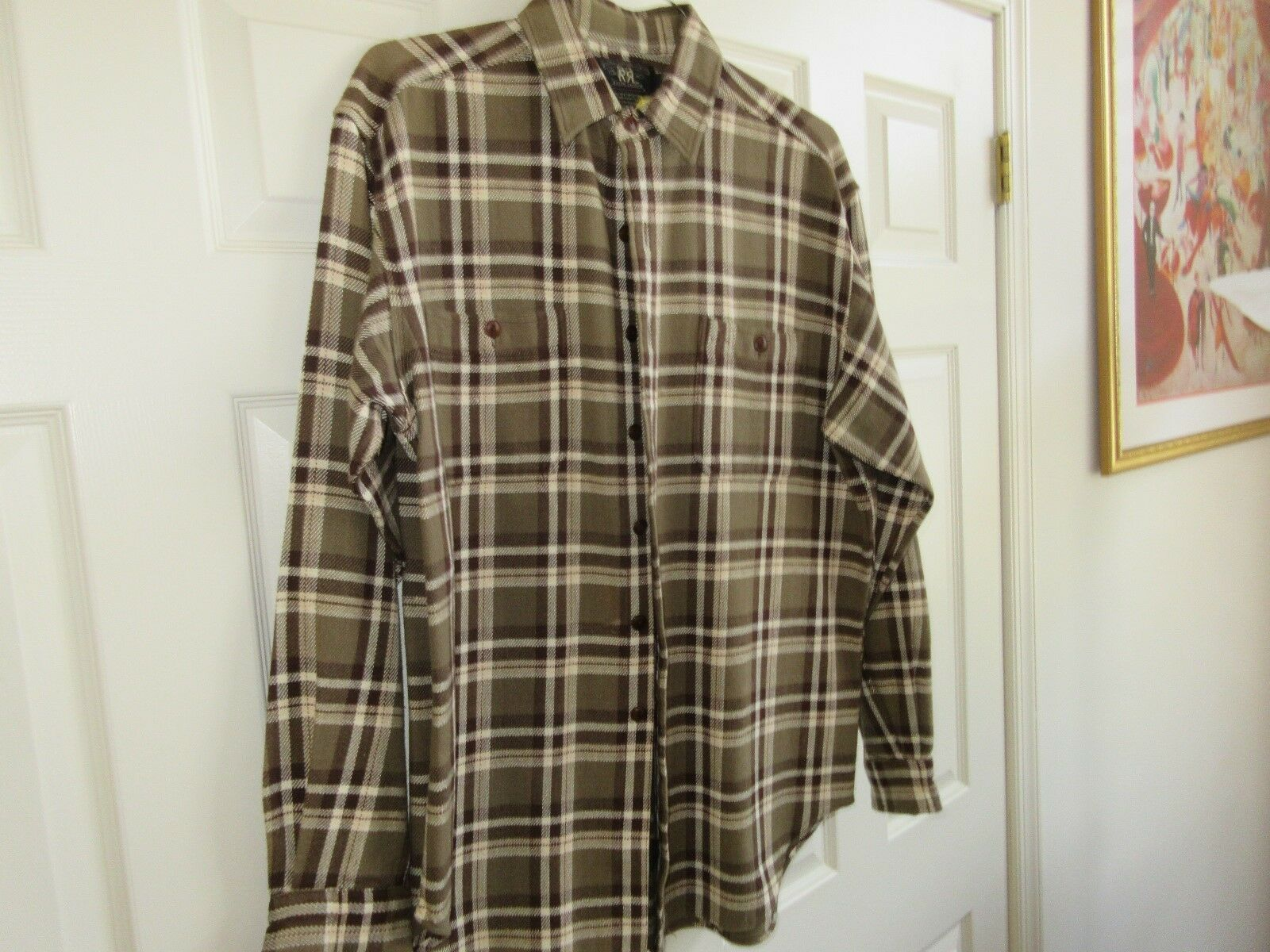 Ralph Lauren , Size L , Long Sleeve Shirt , 100% Cotton