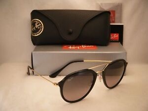 a6b3ef2a6fcd3 Ray Ban 4253 Black w Grey Gradient Lens (RB4253 601 71 53 mm size ...