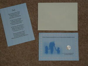 DAD-039-S-FATHERS-DAY-BIRTHDAY-LUCKY-SIXPENCE-amp-POEM-IDEAL-KEEPSAKE