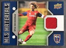 2011 Upper Deck MLS Materials Kyle Beckerman Jersey Card USA Soccer