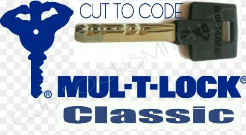 3 x mul t lock classic key cut to code mul t lock key cutting Cut to code