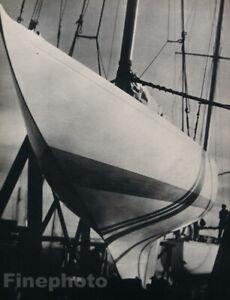 1931 Original MAN RAY Nautical Sailboat Sailing Boat Photo Gravure Art 16x20