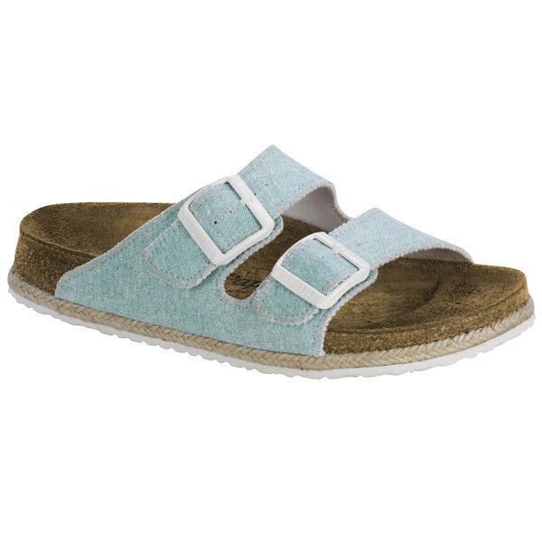 Birkenstock Papillio Brizona Birko-Flor Schuhe Sandale blue 1004251 Weite schmal
