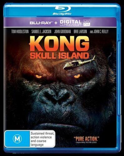 1 of 1 - Kong - Skull Island (Blu-ray, 2017), NEW SEALED REGION 4