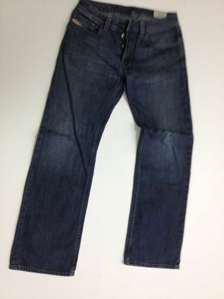Diesel Levan Jeans Hose Dunkelblue Stonewashed  W30 L30