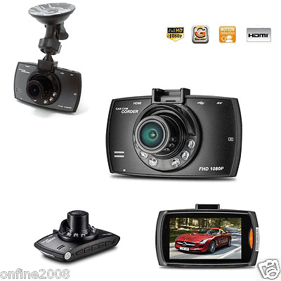 "2.7"" LCD HD 1080P Car DVR Dash Cam Camera Recorder G-sensor Night Vision HDMI"