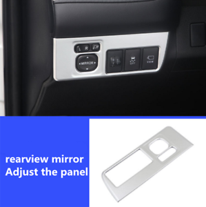 Interior Rearview Mirror Switch Button Cover Trim 1pcs For Toyota RAV4 2013-2018
