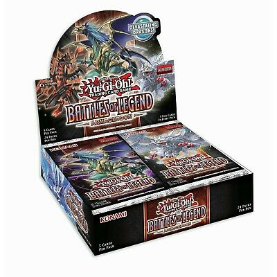 Battles of Legend Armageddon Booster Box 1st Edition Factory Sealed New Yu-Gi-Oh