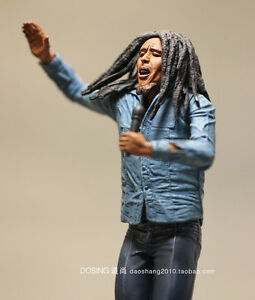 New-NECA-Jamaican-Singer-Bob-Marley-Action-Figure-7-inches-No-package-amp-Base