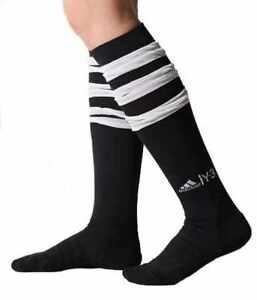 große Auswahl geringster Preis suche nach original Details zu Adidas Y3 Herren Roland Garros Lang Tennis Socken 3 Stripes -  Schwarz & Weiß