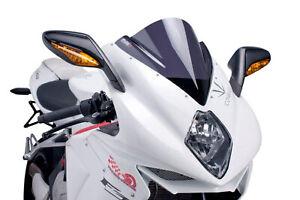 PUIG Z-RACING SCREEN FOR MV AGUSTA F3 675 12-21 DARK SMOKE
