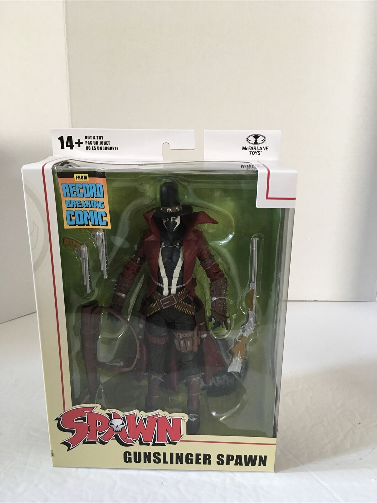 """McFarlane Toys Spawn Gunslinger Action Figure 7"""" Target Exclusive In Hand New on eBay thumbnail"""