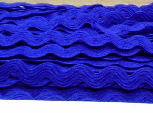 Ric rac trim ribbon craft dressmaking edging 8mm 2m length