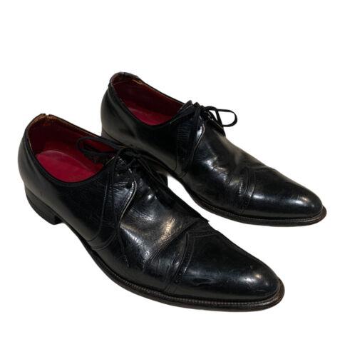 Vintage 1960s Oxford Shoes 9.5