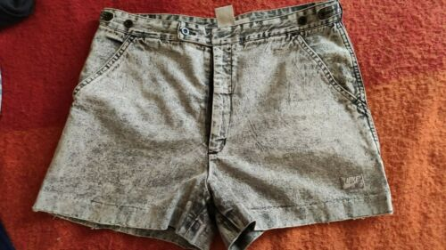 Nike Agassi shorts gray jeans tennis challenge cou