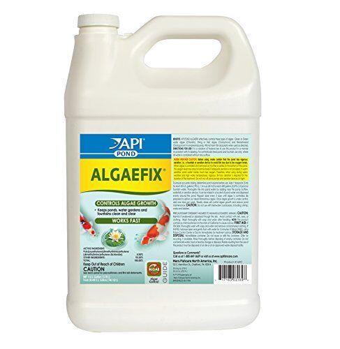 API POND ALGAEFIX Algae Control Solution 1-Gallon Bottle