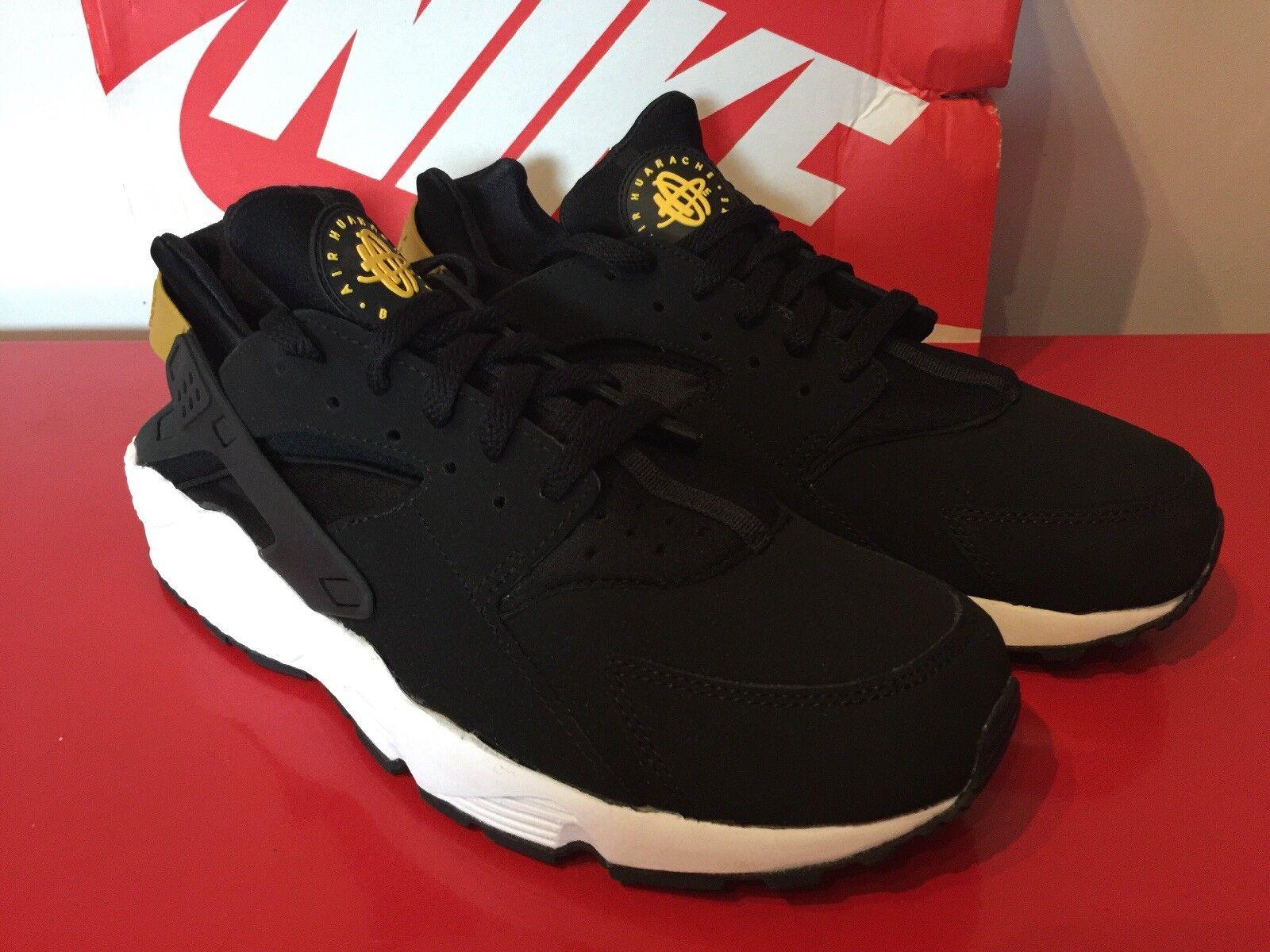 Nike Huarache OG-Nero Giallo Tour