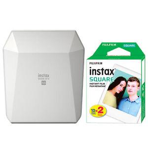 Fujifilm Instax SHARE SP-3 Smartphone Fuji Instax Printer White + 20 Film Sheets
