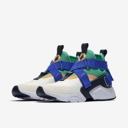 the best attitude d602b 323dc Nike Air Huarache City Womens Ah6787-103 Sail Menta Blue Athletic Shoes  Size 9 for sale online   eBay