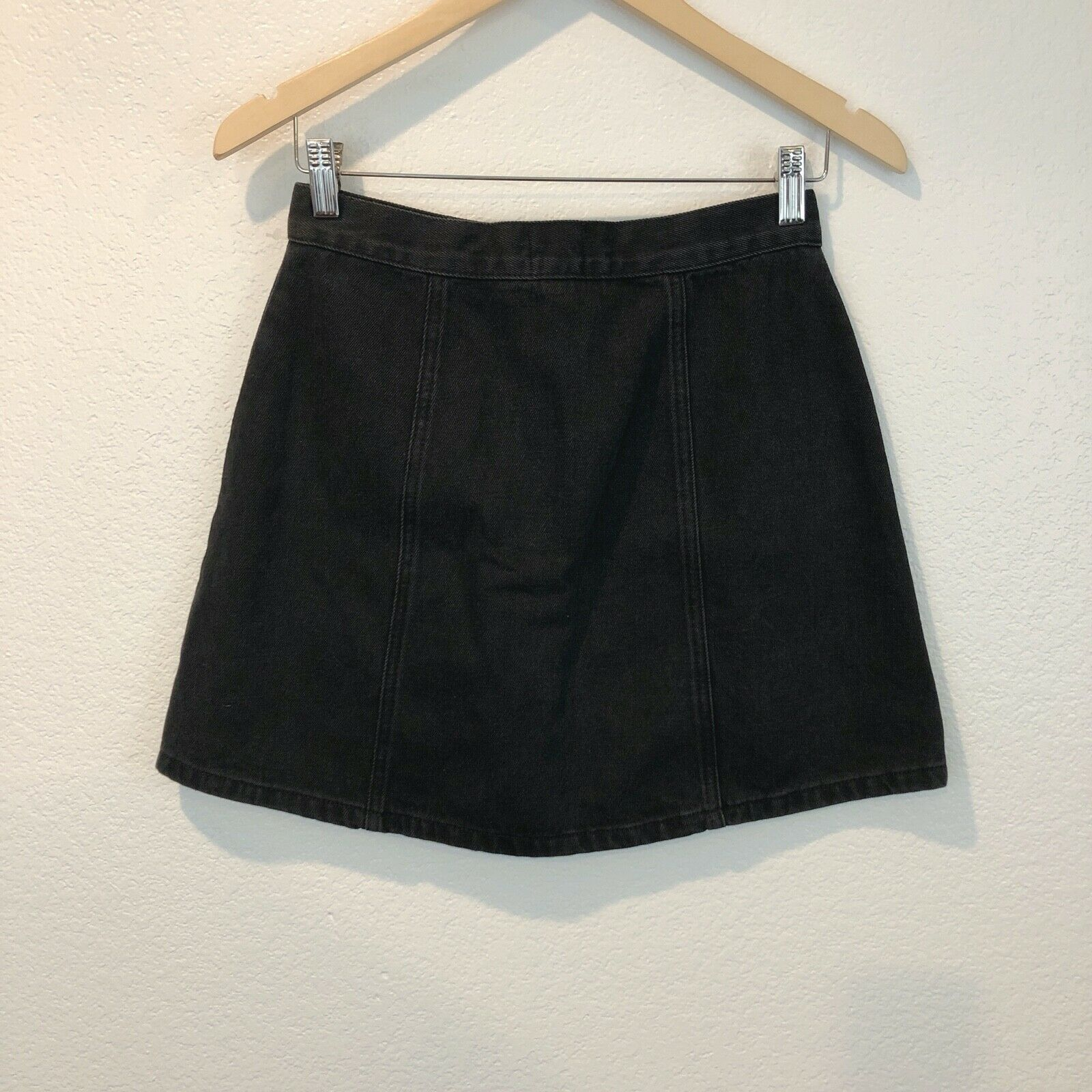 Urban Outfitters BDG Women's Size small Black Den… - image 5