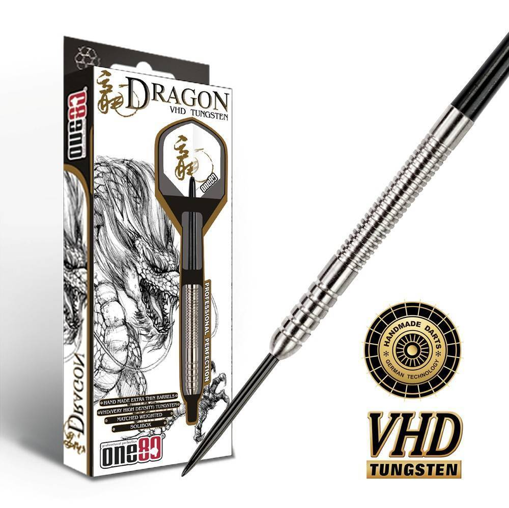 One80 Dart - Dragon Hand Made 90% Tungsten 20g 22g 24g 26g (Steel Dart)