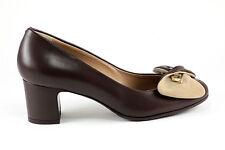 "Marino Fabiani Leathe Italian Shoes New Brown 2"" Heel Sizes 5,6,7,9,11 $ 895"