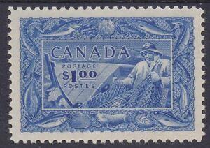 CANADA 1951 FISHERMAN $1 MNH **