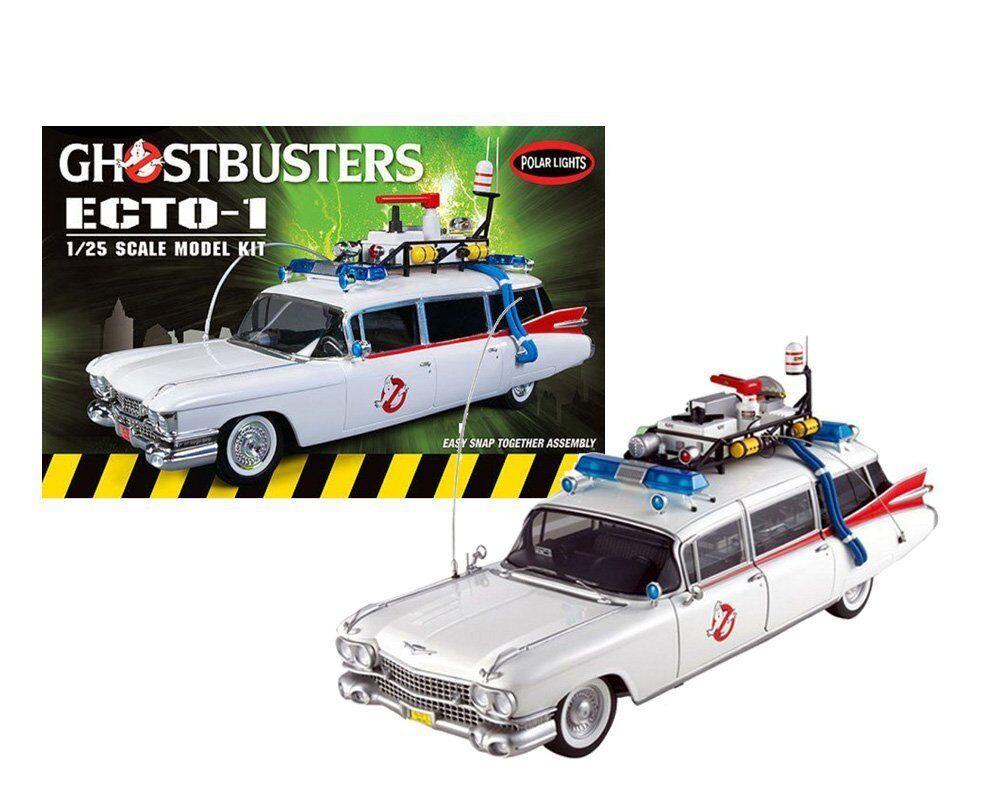 Maquette Voiture Ghostbusters Ecto-1. Kit de de montage. Echelle 1 25