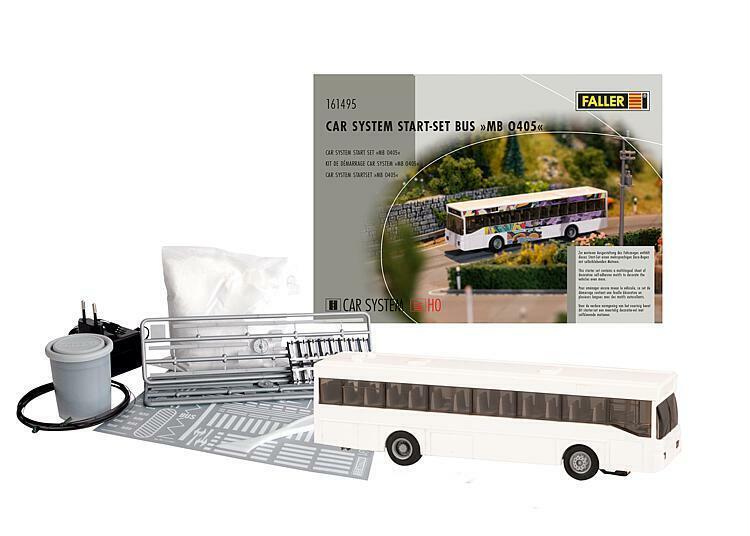 Spur H0 Faller 161930 Car System Laser Street Bushaltestellen Set Neu OVP