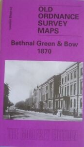 Old Ordnance Survey Detailed Maps Dulwich London 1870 Godfrey Edition New
