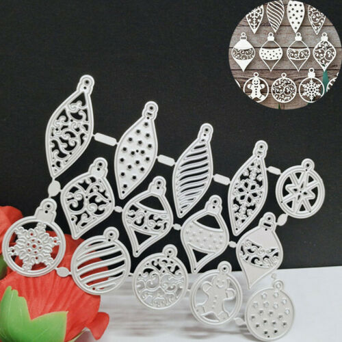 Stencil Mold Metal Cutting Dies Scrapbooking Paper Card Christmas Embossing