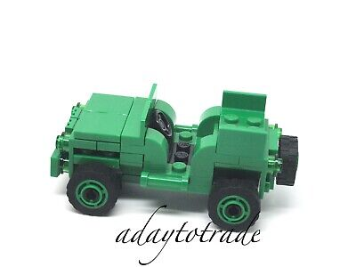 No Mini Figures// Box RBB LEGO Toy Story Green Army Man Car from Set 7595