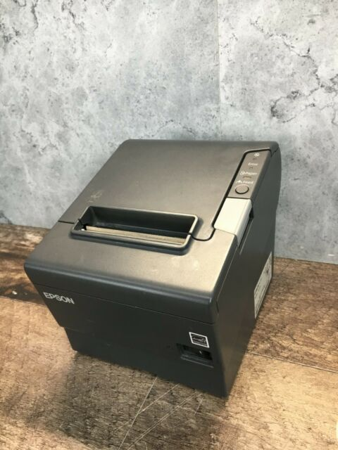 Epson TM-T88v ; M244A Thermal Receipt Printer * Untested * UNIT ONLY *