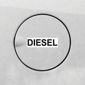 4 Stuck Diesel Aufkleber Sticker Auto Tankdeckel Warnung Hinweis