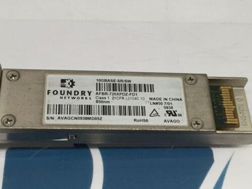 Foundry Networks AFBR-720XPDZ-FD1 850NM Transceiver