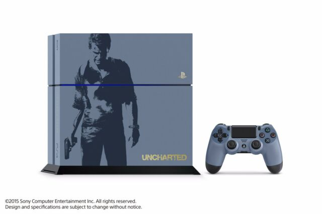 Sony PlayStation 4 (PS4) - Uncharted 4: A Thief's End - Limited Edition Console!