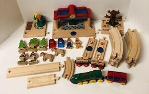 BRIO-Smart-Track-Interactive-Train-Lot-Locomotive-Cars-Train-Station-35-Pieces
