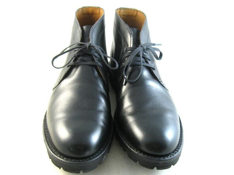 Allen Edmonds  TATE  Chukka Boots 9 D  Black   (1085)