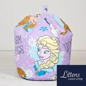 disney frozen crystal childrens kids bean bag beanbag seat filled