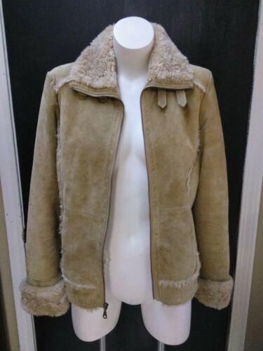 fourrure Wilsons mouton Grand peau daim Leather en Maxima Veste fausse en de M pwB0rpAq