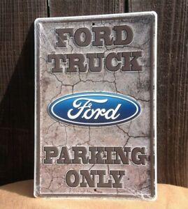Ford Garage Metal Sign