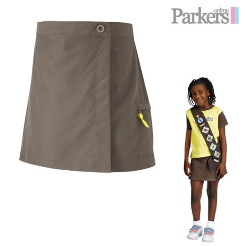 """BRAND NEW GIRLS QUALITY GUIDES BROWNIES BROWNIE SKORT SKIRT SHORTS SIZE 22/""""-32/"""""""