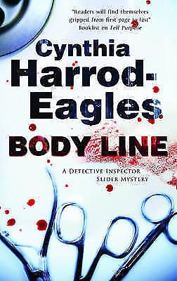 Body Line (Bill Slider Mysteries)-ExLibrary