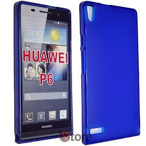 custodia huawei p6 silicone