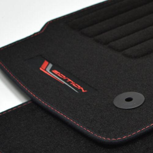 Gamuza tapices Edition adecuado para Ford mondeo V a partir del año 09//2014 VBR