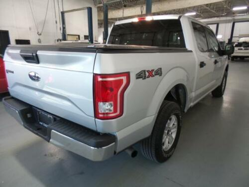 2 2015 2017 Ford F-150 4x4 Magnetic Gray Bed Side Decal Sticker FL3Z-9925622-AA