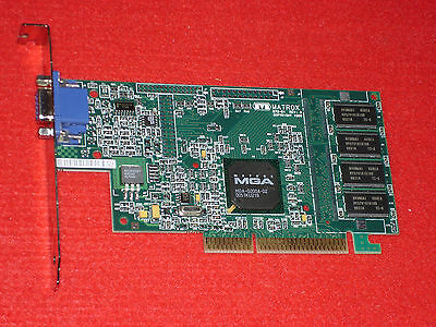 MATROX MGA-G200A AGP DRIVER FOR WINDOWS
