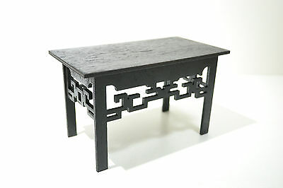 coffee table black for dolls 1/6 12 inch furniture miniature Barbie FR