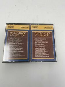 THE SERAPHIM 50 of the Worlds Greatest Classics VOL 1 3 CASSETTES LOT- RARE!
